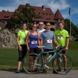 A team of participants at the 2013 Ride for Food